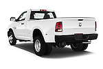 Car pictures of rear three quarter view of 2018 Ram Ram-3500-Pickup Tradesman-Regular-cab 4 Door Pick-up Angular Rear
