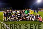 Killarney Celtic A team celebrate after winning the Celsius Mens Cup Final.