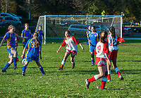 Youth girls soccer game