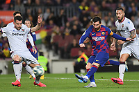 Messi<br /> <br /> Barcelona 02-02-2020 Camp Nou <br /> Football 2019/2020 La Liga <br /> Barcelona Vs Levante <br /> Photo Paco Larco / Panoramic / Insidefoto <br /> ITALY ONLY