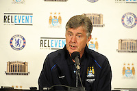 Brian Kidd acting coach Manchester City post game press conference..Manchester City defeated Chelsea 4-3 in an international friendly at Busch Stadium, St Louis, Missouri.
