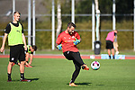 15.09.2020, Sportpark Illoshöhe, Osnabrück, GER, 2. FBL, Training VfL Osnabrueck <br /> <br /> im Bild<br /> Philipp Kühn (VfL Osnabrück, 22) am Ball.<br /> <br /> Foto © nordphoto / Paetzel