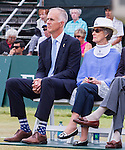 CEO Todd Martin listens at the 2015 Induction Ceremony at the International Tennis Hall of Fame, Newport, RI USA.  The ceremony took place on July 18, 2015