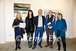 An exhibition of work from International Artist Regine Bartsch who is based in Cahersiveen opened at the Butter Market in Kenmare on Friday evening pictured here l-r; Pamela Hardesty(CCAD), Regine Bartsch, Mike O'Neill, Paddy de Buis & Fiona de Buis. The exhibition will run until the 30th October.