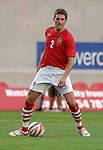 Wales' Sam Ricketts during the International Friendly between Wales and Luxembourg at Parc y Scarlets in LLanelli..