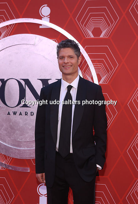 Tom Kitt attends the 74th Tony Awards-Broadway's Back! arrivals at the Winter Garden Theatre in New York, NY, on September 26, 2021. (Photo by Udo Salters/Sipa USA)