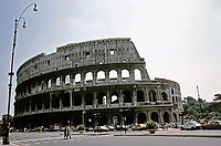 Exterior photograph of the Colosseum, Rome Italy, 70 - 80 CE