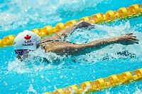 Margaret Macneil of Canada in act at women' 100m butterfly final during 18th Fina World Championships Gwangju 2019 at Nambu University Municipal Aquatics Centre, Gwangju, on 22  July 2019, Korea.  Photo by : Ike Li / Prezz Images