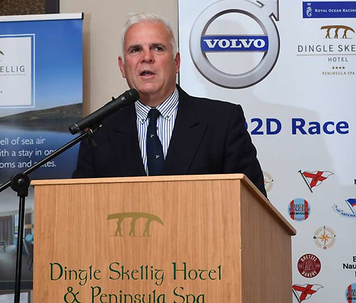 2021 Volvo Dun Laoghaire Dingle Race Chairman Adam Winkelmann -