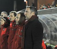 Belgium - Austria : bondscoach Oostenrijk Dominik Thalhammer.foto DAVID CATRY / Vrouwenteam.be