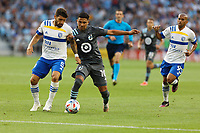 SAINT PAUL, MN - JULY 3: Emanuel Reynoso #10 of Minnesota United FC during a game between San Jose Earthquakes and Minnesota United FC at Allianz Field on July 3, 2021 in Saint Paul, Minnesota.