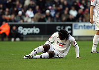 Pictured: Jason Scotland of Swansea<br /> Re: Coca Cola Championship, Swansea City FC v Coventry City at the Liberty Stadium. Swansea, south Wales, Friday 26 December 2008.<br /> Picture by D Legakis Photography / Athena Picture Agency, Swansea 07815441513
