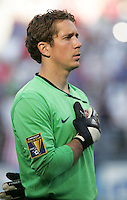 Troy Perkins. USA defeated Grenada 4-0 during the First Round of the 2009 CONCACAF Gold Cup at Qwest Field in Seattle, Washington on July 4, 2009.