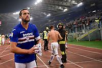Mat'as Silvestre of Sampdoria during the Serie A match between Roma and Sampdoria at Stadio Olimpico, Rome, Italy on 28 January 2018. Photo by Giuseppe Maffia. *** Local Caption *** © pixathlon<br /> Contact: +49-40-22 63 02 60 , info@pixathlon.de