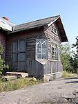 Abandoned Homestead on Island of Kökar, Åland, Finland