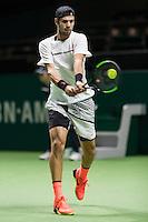 ABN AMRO World Tennis Tournament, Rotterdam, The Netherlands, 14 februari, 2017, Karen Khachanov (RUS)<br /> Photo: Henk Koster