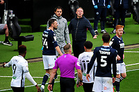 Steve Cooper Head Coach of Swansea City in action during the Sky Bet Championship match between Swansea City and Millwall at the Liberty Stadium in Swansea, Wales, UK. Saturday 03 October 2020