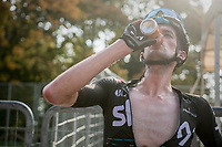 Wout Poels (NED/SKY) post-finish<br /> <br /> 98th Milano - Torino 2017 (ITA) 186km