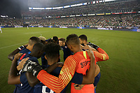 Nashville, TN - Tuesday September 11, 2018: The men's national teams of the United States (USA) and Mexico (MEX) played an international friendly at Nissan Stadium.