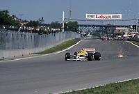 1986 File Photo - Nelson Piquet at the the Labatt Formula One Grand-Prix