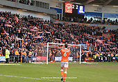 09/03/2019 Sky Bet League 1 Blackpool v Southend United<br /> <br /> Blackpool fans celebrate at the end of the game