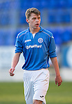 St Johnstone Academy v Manchester United Academy....17.04.15   <br /> Joe Johnson<br /> Picture by Graeme Hart.<br /> Copyright Perthshire Picture Agency<br /> Tel: 01738 623350  Mobile: 07990 594431