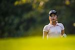 So-Young Jang of Korea looks on during the Hyundai China Ladies Open 2014 on December 09 2014 at Mission Hills Shenzhen, in Shenzhen, China. Photo by Aitor Alcalde / Power Sport Images