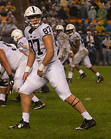 Penn State tight end Pat Freiermuth. The Penn State Nittany Lions defeated the Pitt Panthers 51-6 on September 08, 2018 at Heinz Field in Pittsburgh, Pennsylvania.