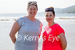 Enjoying a stroll in Inch beach on Saturday, l to r: Réidin O'Loughlan and Fiona Cahill.