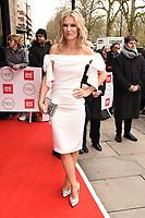Charlotte Hawkins<br /> arriving for theTRIC Awards 2020 at the Grosvenor House Hotel, London.<br /> <br /> ©Ash Knotek  D3561 10/03/2020