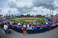 The Wake Forest Demon Deacons faced off against the Florida Gators in Game Two of the Gainesville Super Regional of the 2017 College World Series at Alfred McKethan Stadium at Perry Field on June 11, 2017 in Gainesville, Florida.  (Brian Westerholt/Four Seam Images)
