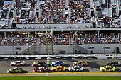 Monster Energy NASCAR Cup Series<br /> The Advance Auto Parts Clash<br /> Daytona International Speedway, Daytona Beach, FL USA<br /> Sunday 11 February 2018<br /> Chase Elliott, Hendrick Motorsports, Mountain Dew Chevrolet Camaro and Erik Jones, Joe Gibbs Racing, Circle K Toyota Camry<br /> World Copyright: Nigel Kinrade<br /> LAT Images