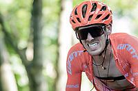 Alessandro De Marchi (ITA/CCC) up the infamous Muro di Sormano (avg 17%/max 25%)<br /> <br /> 114th Il Lombardia 2020 (1.UWT)<br /> 1 day race from Bergamo to Como (ITA/231km) <br /> <br /> ©kramon