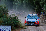 Thierry Neuville/Nicolas Gilsoul (Hyundai i20 WRC) during the World Rally Car RACC Catalunya Costa Dourada 2016 / Rally Spain, in Catalunya, Spain. October 15, 2016. (ALTERPHOTOS/Rodrigo Jimenez)