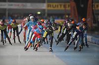 SCHAATSEN: HOORN: 24-11-2018, IJsbaan de Westfries, ©foto Martin de Jong