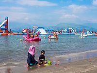 Floating Island in Subic Bay, Pampanga, Philippines