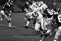 Gene Cappetelli Montreal Alouettes 1971. Photo Ted Grant