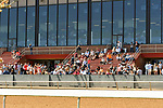 April 10, 2021: Scenes from an undercard race at Oaklawn Park on the Arkansas Derby undercard at Oaklawn Park in Hot Springs,  Arkansas.  Ted McClenning/Eclipse Sportswire/CSM