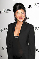 LOS ANGELES - FEB 15:  Jessica Szohr at the Sony PlayStationAE Unveils PS VITA Portable Entertainment System at the Siren Studios on February 15, 2012 in Los Angeles, CA