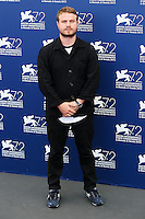 Brady Corbet attends the photocall for the movie 'The Childhood Of A Leader' during the 72nd Venice Film Festival at the Palazzo Del Cinema in Venice, Italy, September 5. <br /> UPDATE IMAGES PRESS/Stephen Richie