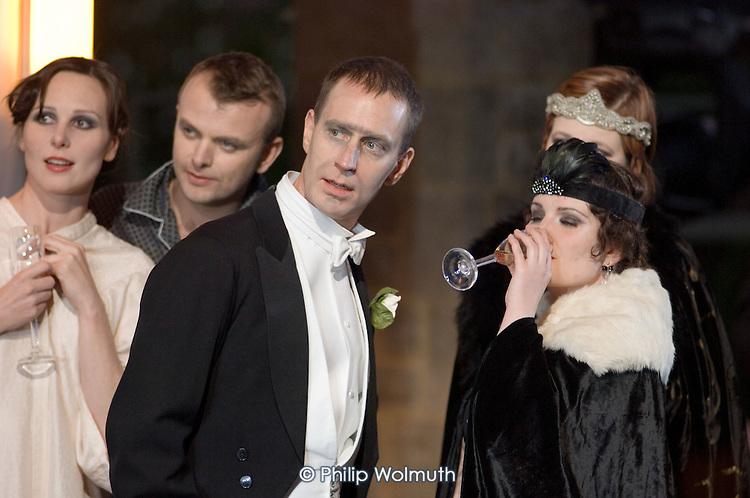 Performance of Arabella, by Richard Strauss, at Garsington Manor, Oxfordshire.