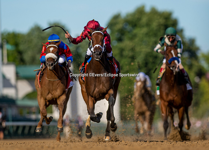 September 4, 2020: Shedaresthedevil with Florent Geroux up wins the Longines Kentucky Oaks at Churchill Downs in Louisville, Kentucky, on September 04, 2020. Evers/Eclipse Sportswire/CSM