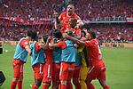 América venció 2-0 a Junior (2-0 en el global). Final vuelta Liga Águila II-2019. América campeón.