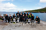 Students from Kerry College in conjunction with Cappanalea on their PADI Openwater and Instructor course at Kells Pier on Thursday, pictured here front l-r; Seamus Clune, Charlotte Bright, Antonio Chitton, Luke Pomeranz, Connor Furlong, Úna Fitzpatrick, Chloe Bagnall, Nathaniel Laplaud, Fionnghuala Miller, back l-r; (Instructors) Brian O'Flaherty(Prog Co-Ordinator), Katie O'Connor, Danny O'Reilly, Elizabeth Newman & Sandra Fitzgibbon(PADI Course Director).