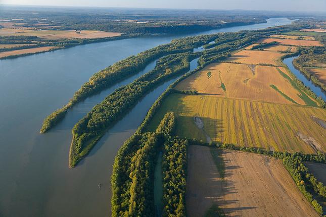 Shoals along the Ohio River