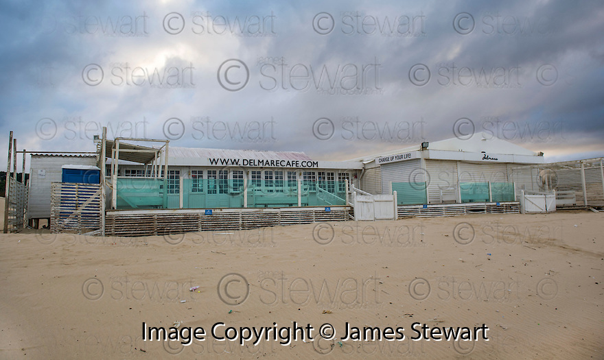 The Del Mare Cafe & Beach Club, at Costa da Caparica, Portugal, where former Celtic player Jorge Cadete, who lost his fortune earned as a footballer, was given a job by a friend to help him through his financial difficulties.