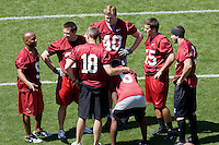 12 April 2007: Former players return to Stanford to play in the Alumni game at Stanford Stadium in Stanford, CA.