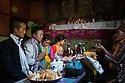 India - Sikkim - A Lepcha wedding ceremony in the village of Keshel.