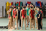 Masayo Imura (JPN), <br /> AUGUST 10, 2014 - Synchronised Swimming : <br /> Japan Synchro Challenge Cup 2014 <br /> Exhibition <br /> Team Free combinations <br /> at Tatsumi International Swimming Pool, Tokyo, Japan. <br /> (Photo by YUTAKA/AFLO SPORT)