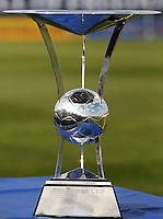 Founders Cup Trophy.  Washington Freedom tied Chicago Red Stars 1-1  at The Maryland SoccerPlex, Saturday April 11, 2009.